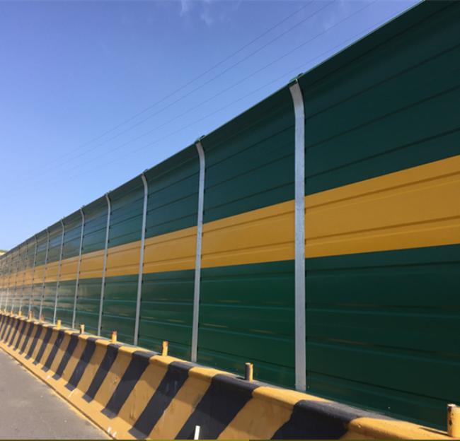 Steel noise barriers